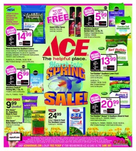 March Into Spring Savings At ACe